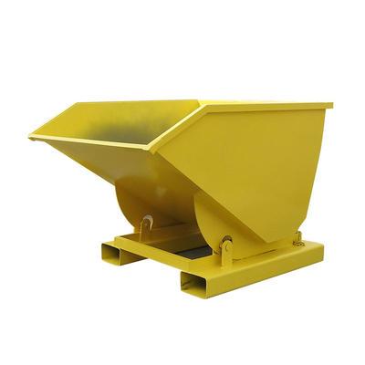 Self-tipping bins Dump Hopper customization