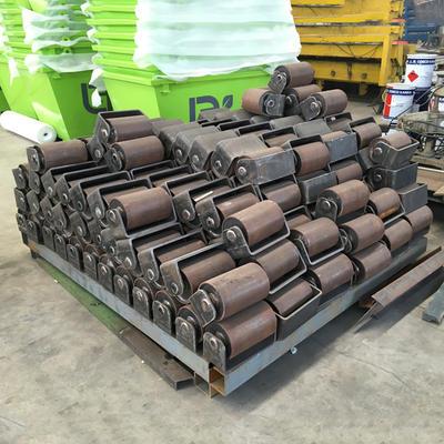 Standard size hook bin rollers